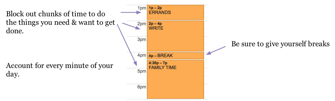 schedule everything