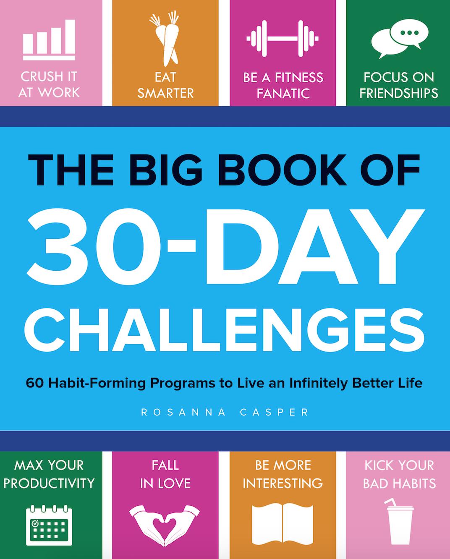100 30 day challenge ideas -